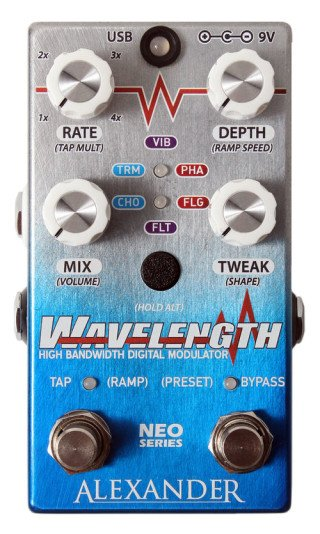 Alexander Pedals Wavelength on RigShare