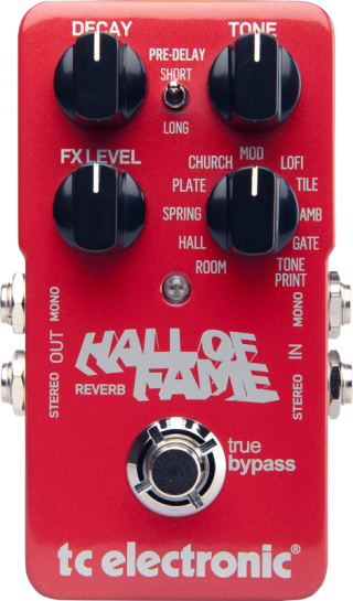 TC Electronic Hall Of Fame Reverb on RigShare