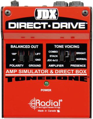 Radial Engineering JDX Direct-Drive Amp Simulator & DI Box on RigShare
