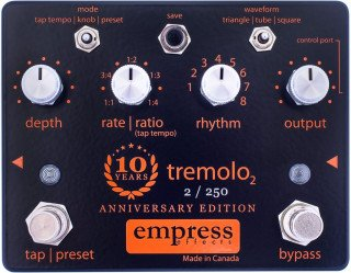 Empress Effects 10th Anniversary Tremolo on RigShare