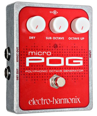 Electro-Harmonix Pedals Micro POG Polyphonic Octave Generator on RigShare