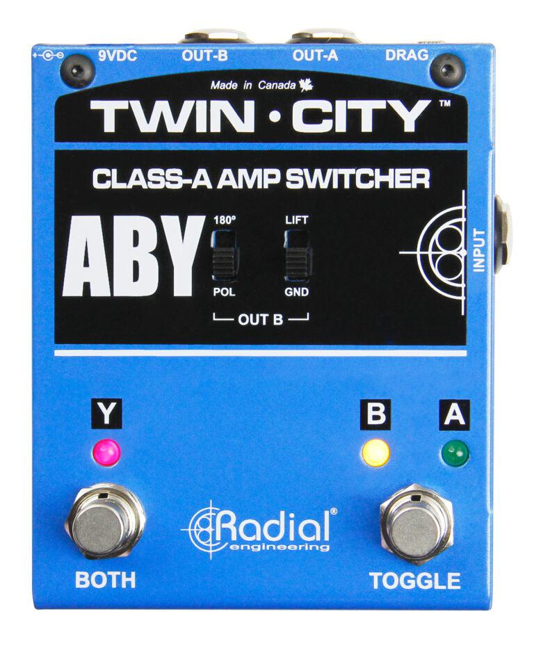 Radial Engineering Twin-City Active Amp Switcher on RigShare