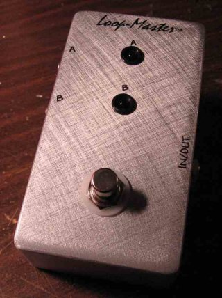 Loopmaster Switcher Pedals A/B Box Custom on RigShare