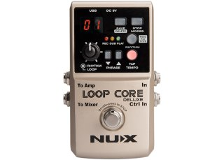 Nux Loop Core Deluxe 24-bit Looper Pedal on RigShare