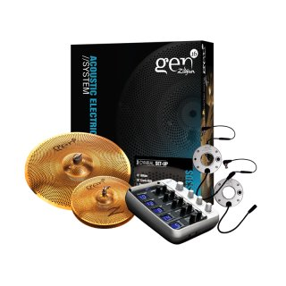 Zildjian Gen16 Buffed Bronze 13/18 Ds Cymbal Set on RigShare