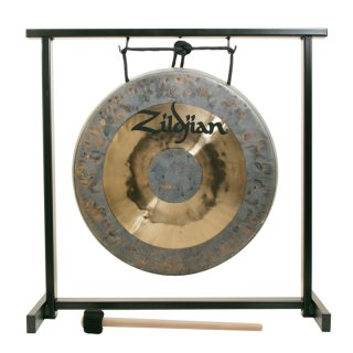 """Zildjian 12"""" Traditional Gong And Table-Top Stand Set on RigShare"""