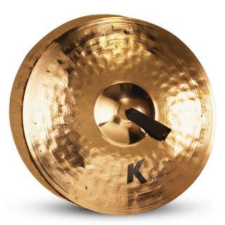 "Zildjian 20"" K Symphonic Light Brilliant - Pair on RigShare"